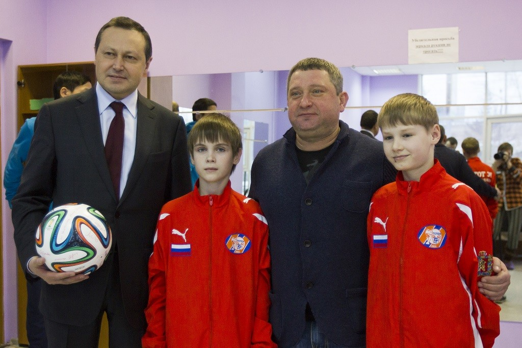Сергея Горбунова – президента ФК «Тотем» с юбилеем!