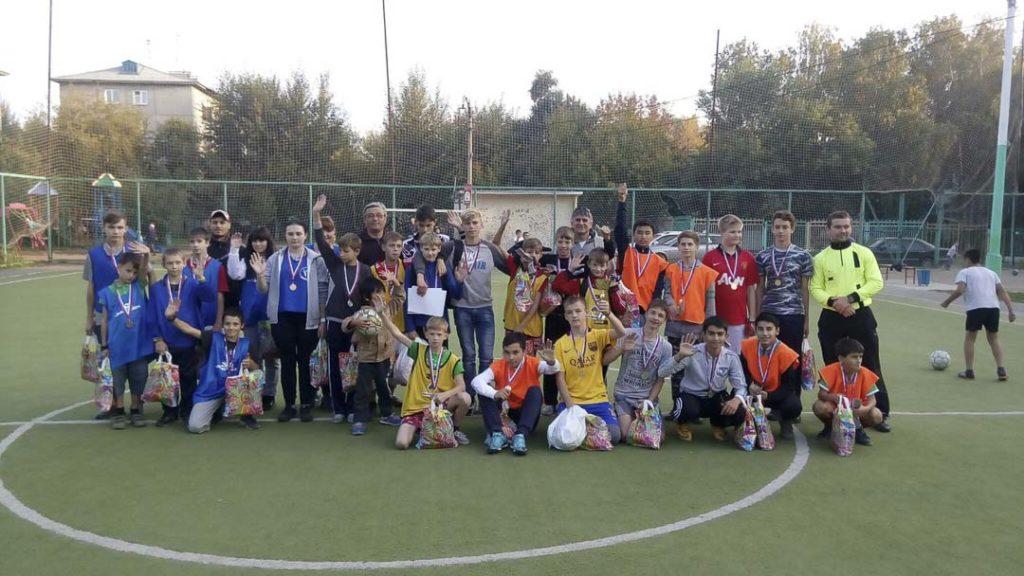 Команда детского дома №1 (2002-2005 г.р.) приняла участие в турнире по футболу