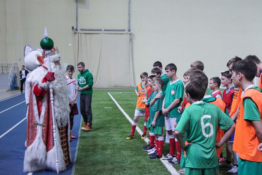 Дед мороз из Великого Устюга прибыл в Красноярск