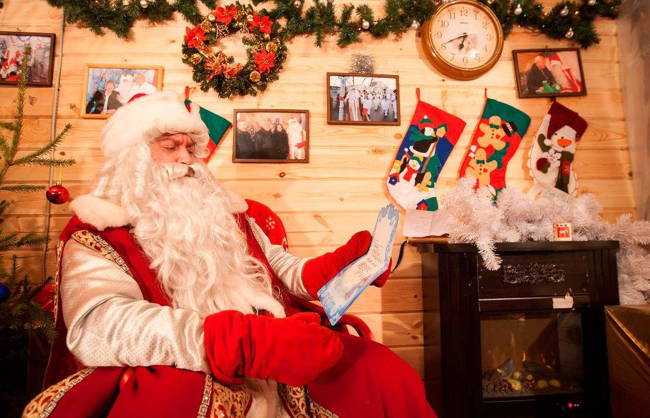 Красноярцы смогут встретиться с главным Дедом Морозом страны