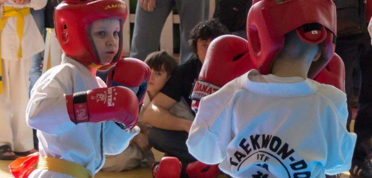 Открытые соревнования по тхэквондо «Юный Легионер»