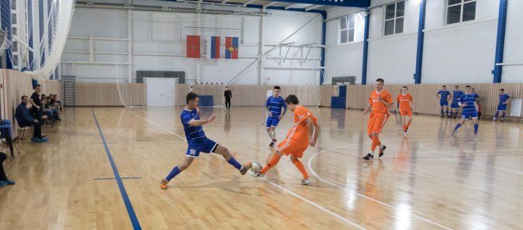 Футбольный матч в честь Дня сотрудника МВД
