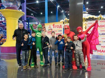 Тотем побывал на дне рождения ТРЦ ПОКРОВSKY
