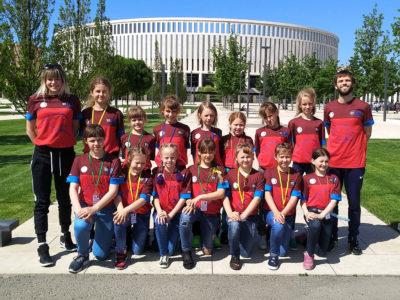 Команда девочек из ФК «Тотем» вышла в финал турнира «кожаный мяч»