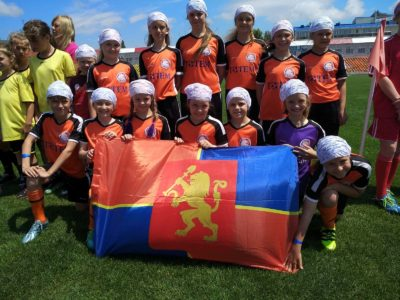 Команда девочек из ФК