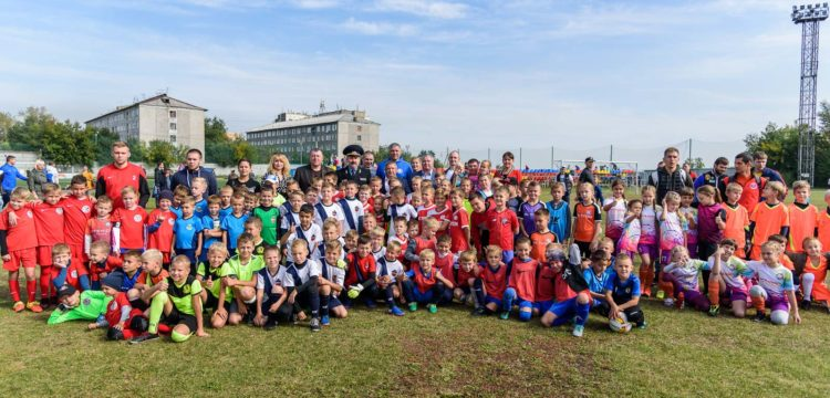 Кубок ФК «Тотем» и силовых структур прошел в Красноярске