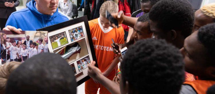 Команда из Гвинеи сыграла против ФК