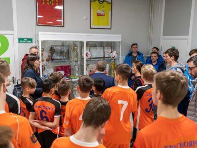 ФК «Тотем» провёл матч с делегацией FISU