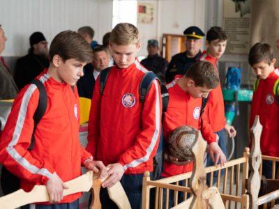 ФК «Тотем» сыграл с ребятами из канской колонии