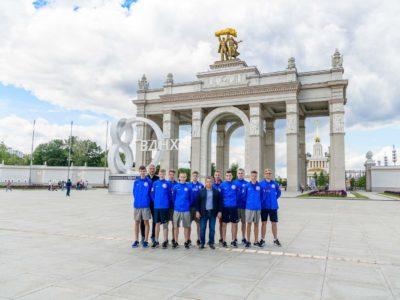 ФК «Тотем» проводит тренировочные сборы в Москве