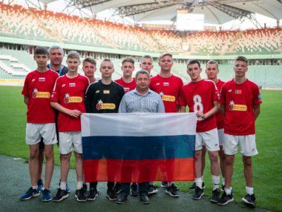 Российские юниоры стали полуфиналистами Чемпионата мира по мини-футболу
