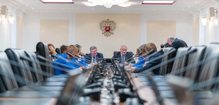 ФК «Тотем» посетил Совет Федерации