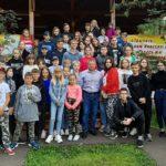 Президент ФК «Тотем» Сергей Горбунов посетил лагерь «Юность»