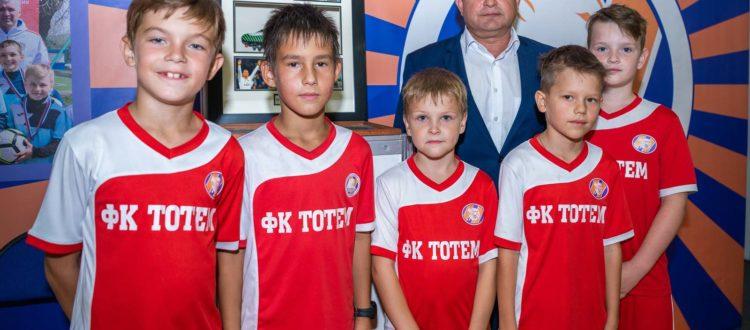 ФК «Тотем» участвует в «Фестивале увлечений - 2019»