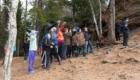 Ребята из ФК «Тотем» посетили эко-школу на «Столбах»