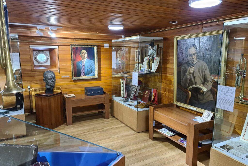 Открытие выставки в красноярском краеведческом музее