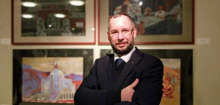 Андрей Блиок, член-корреспондент Российской академии художеств Андрей Блиок